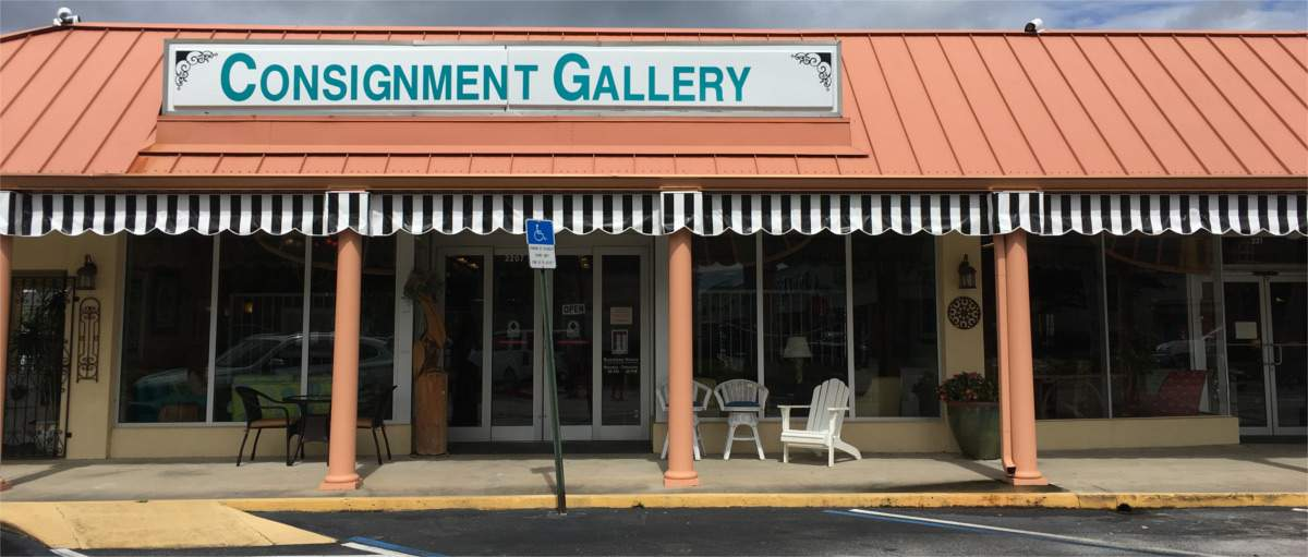 View of Consignment Gallery Storefront
